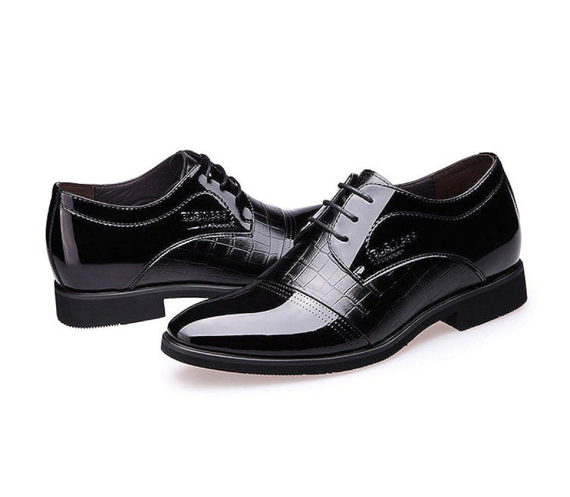 Herren Lederschuhe Lederschuhe Lederschuhe Mode Kleid Arbeitsschuhe Lackleder Schnürsenkel Business Lederschuhe 8da7c0