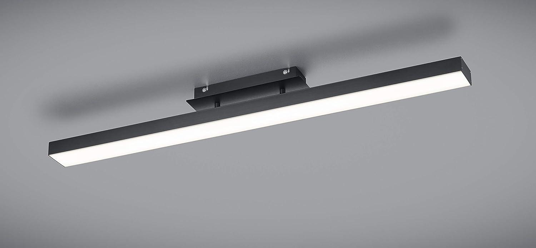 4x fach Touch Schwarz Matt Reality Leuchten Agano R32801132 LED Pendelleuchte Metall 18 Watt