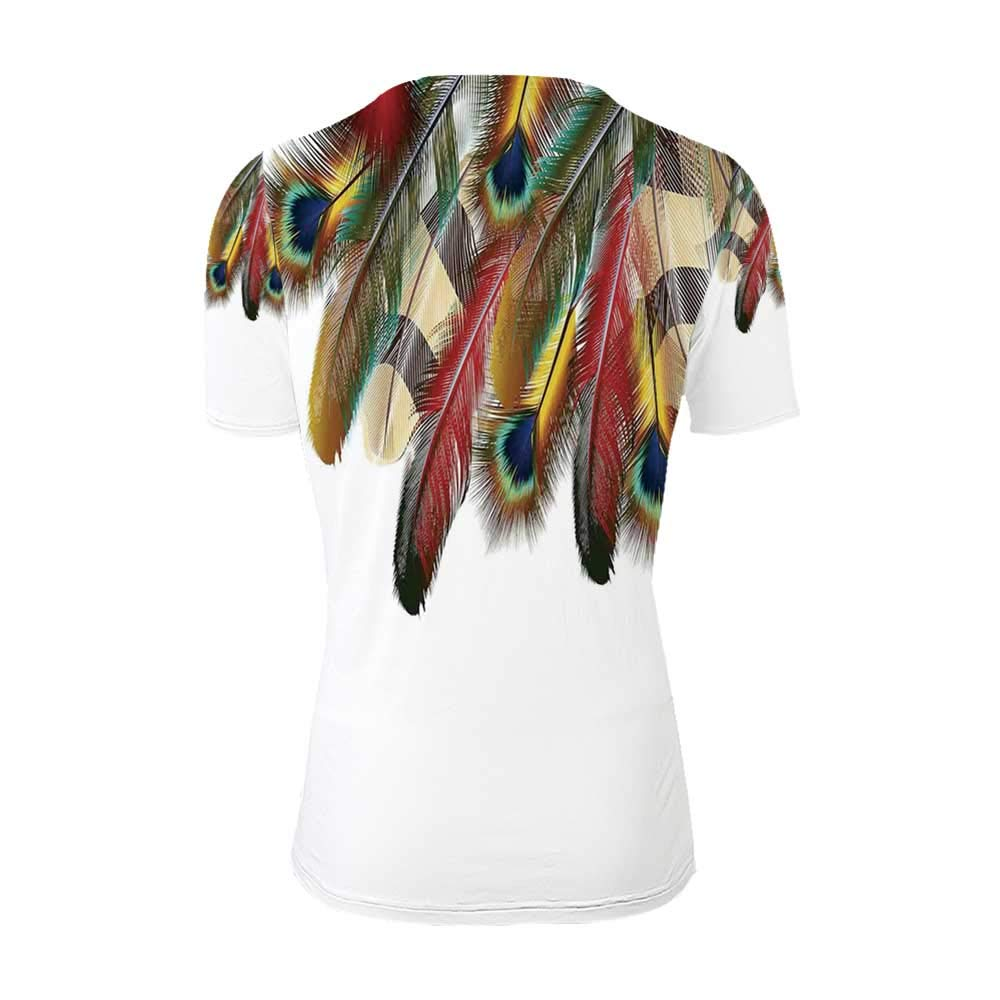 Peacock Fashionable T Shirt,for Men,S