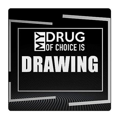 Amazoncom Makoroni My Drug Of Choice Is Drawing Hobby