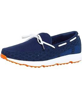 Stride Lace Loafer, Mocassins Homme, Orange (Orange/Grey/White Fleck 585-Org/Gry/Wte FLK), 40 EUSwims