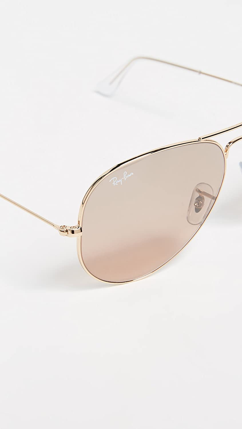 Amazon.com: Ray-Ban 3025 Aviator - Gafas de sol (metal ...