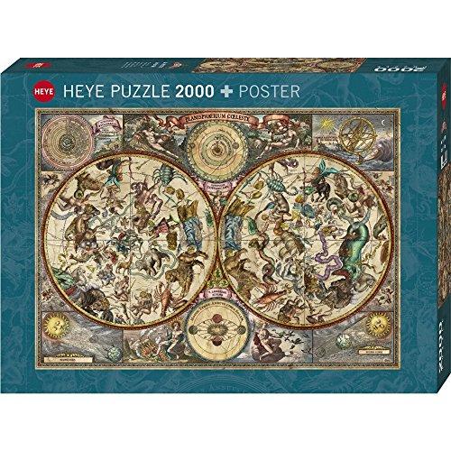 Heye Celestial Map 2000 Piece Jigsaw Puzzle