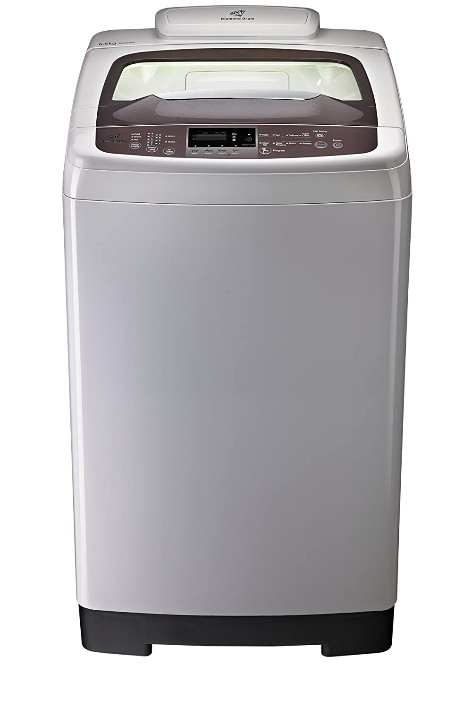 Samsung Wa85bsoeh Top Loading Washing Machine 6 5 Kg Light Grey Amazon In Home Kitchen
