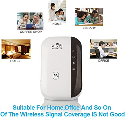 Wifi Repeater 300mbps Range Extender Ofspower Wireless Computers Accessories