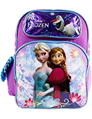 Backpack - Disney - Frozen Elsa & Anna Sisters Stick Together 16 642570