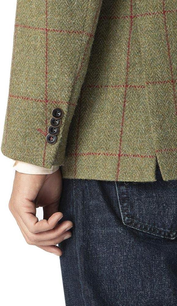 Mens Valtos Harris Tweed Tailored Fit Jacket by Brook Taverner