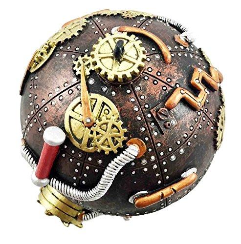 Steampunk Spherical Capsule Gearwork Figurine product image