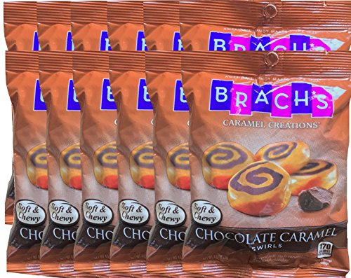 Brach's Chocolate Caramel Swirls America's Candy Since 1904 Net Wt 4 Oz