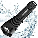 Supernova Guardian 1300 Professional Series Rechargeable Tactical LED Flashlight with Remote Pressure Switch and BrightStart Technology