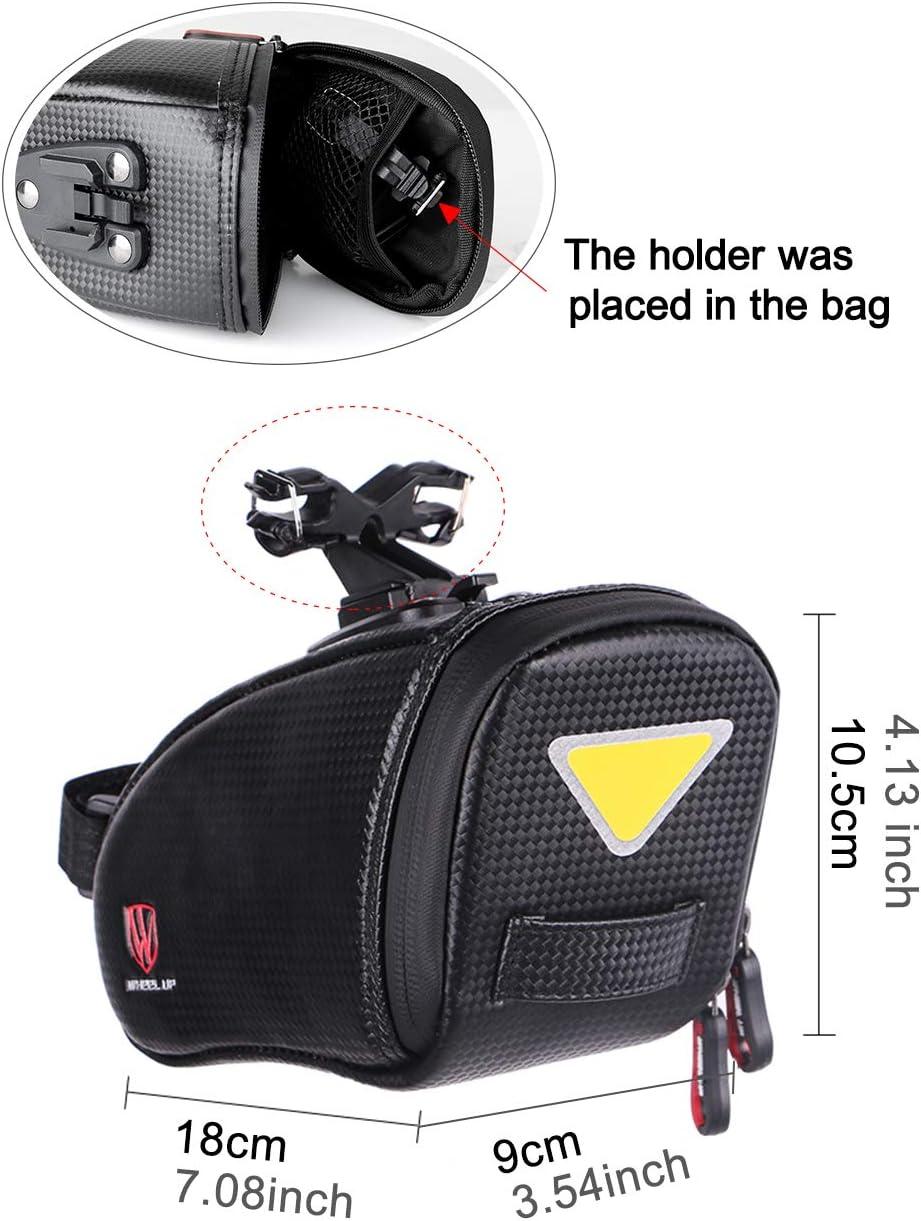 20 9 9cm Fahrrad Tasche Werkzeuge Halter Schwanz für Mountainbike Sattel