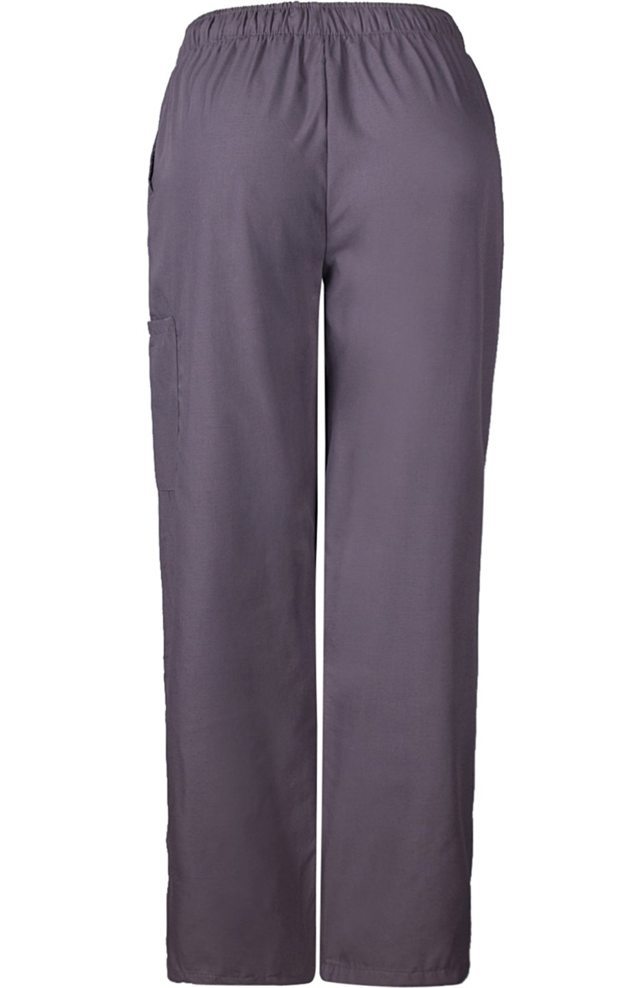 MedPro Women's Medical Scrub Set with Printed Wrap Top and Cargo Pants Purple Grey XL by MedPro (Image #5)
