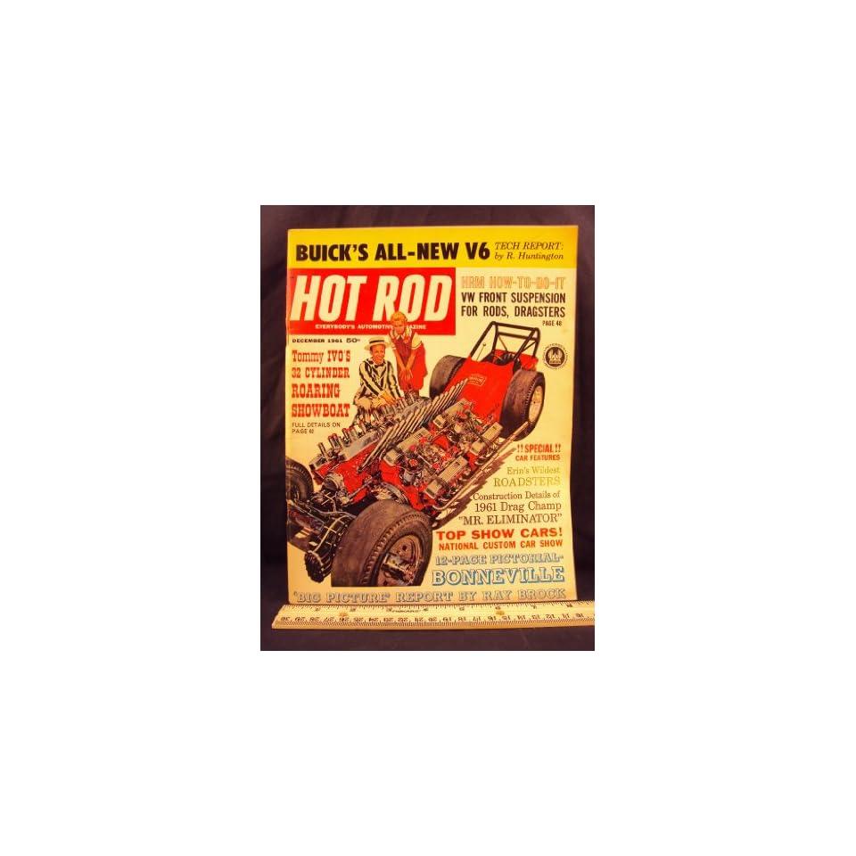 1961 61 DEC December HOT ROD Magazine, Volume 14 Number # 12