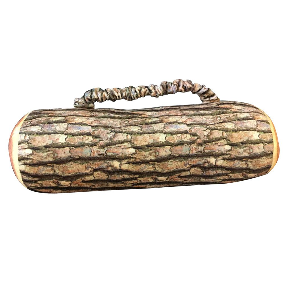 SFE Design Natural Wood Log Throw Pillow Back Soft Cushion Car Neck Home Sleeping by SFE-Pillow (Image #2)