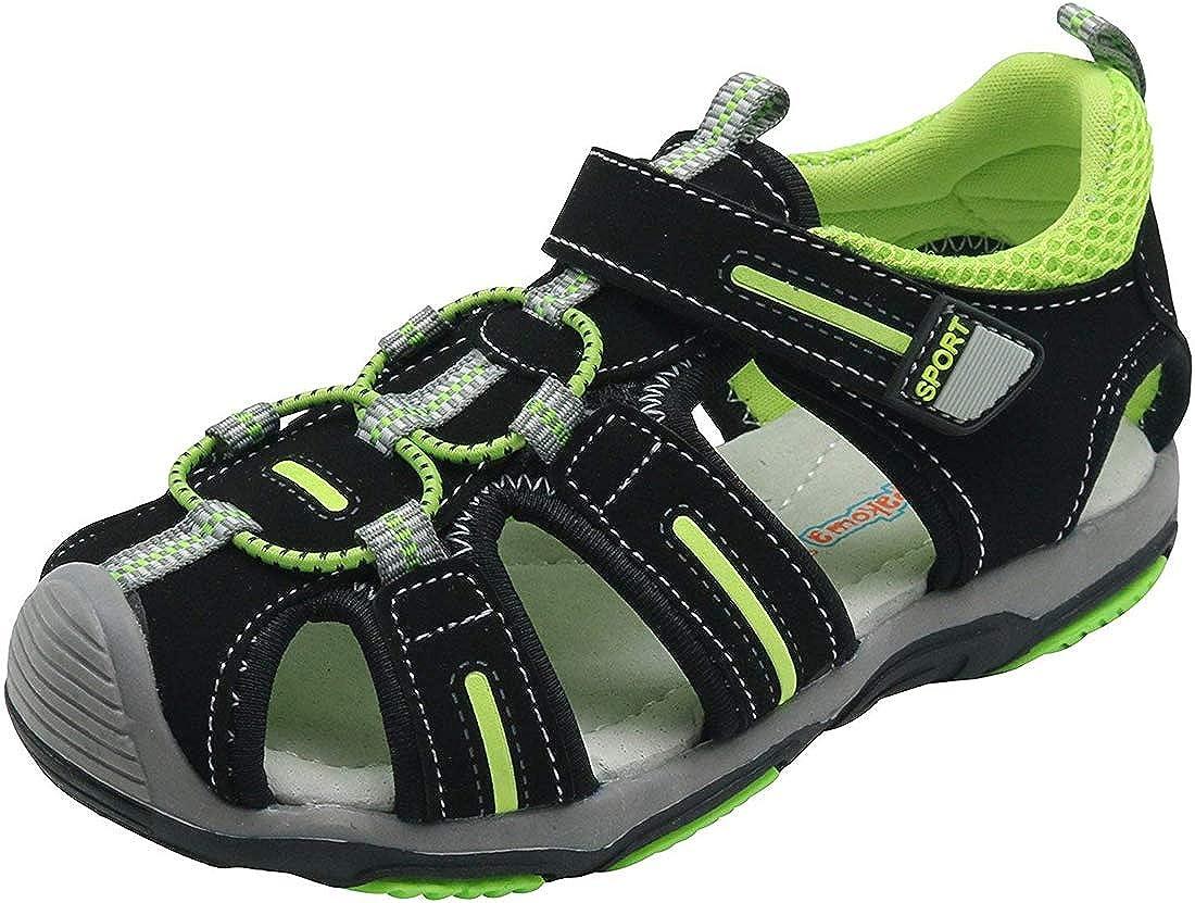 Saldgoiz Ni/ño Zapatos Sandalias Deportivas con Punta Cerrada de Senderismo Trail Zapatillas de Playa de Verano para Ni/ños 21-32