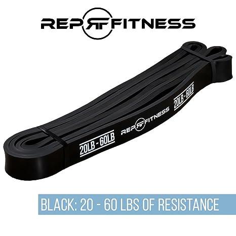 Rep pull-up bandas – asistencia desplegable y bandas de resistencia para mayor resistencia y