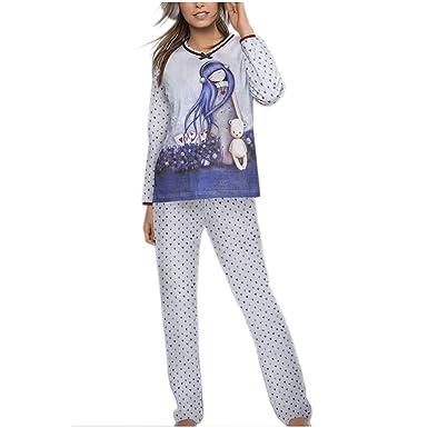 820db5fd99745 Santoro Gorjuss - Ensemble de Pyjama - Femme Multicolore Multicolore XL -  Multicolore - M