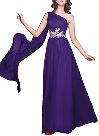 Legend Online Womens One Shoulder Evening Dresses Formal Dress Prom Gowns