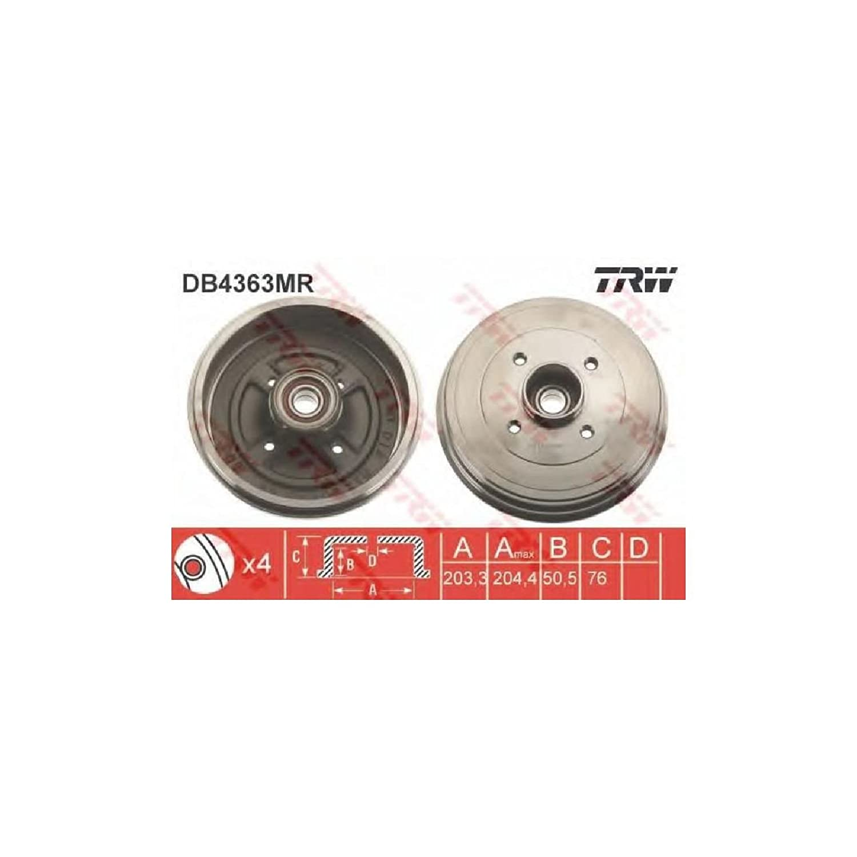 Bremstrommel TRW DB4363MR