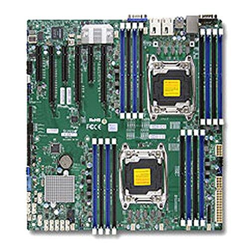 Supermicro Sata Motherboard (Supermicro MBD-X10DRI-T-O DP HASWELL MBD LGA2011 SATA)