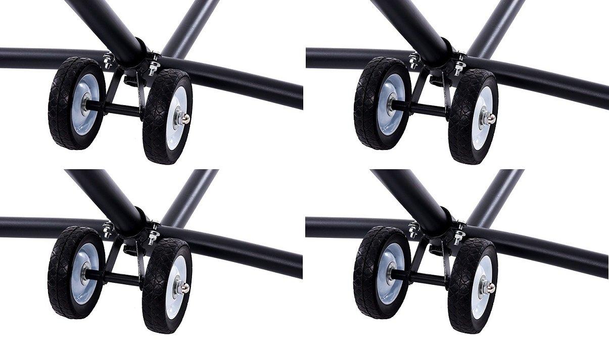 Vivere WHEEL Hammock Stand Wheel Kit (4 Kits)
