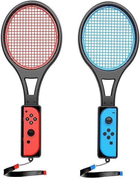 Switch - Raqueta de Tenis para Nintendo Switch Joycon, Accesorios ...