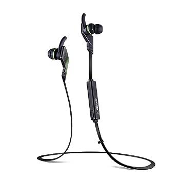 AUSDOM auriculares in-ear auriculares inalámbricos jogto Bluetooth 4.1 estéreo Deportes Bass auriculares con micrófono incorporado para running para ...
