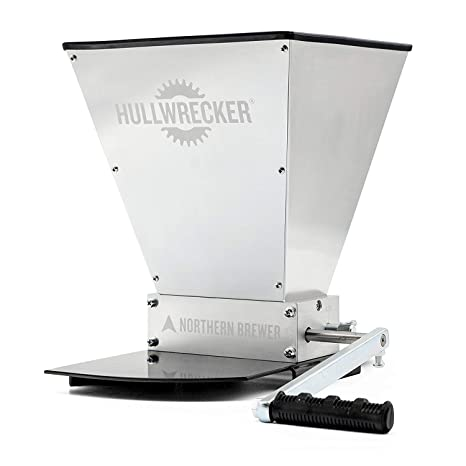 Amazon.com: Hullwrecker - Molinillo de grano con base de ...