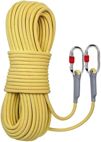 Equipo de escalada Cuerda de escape de gran altura amarilla ...
