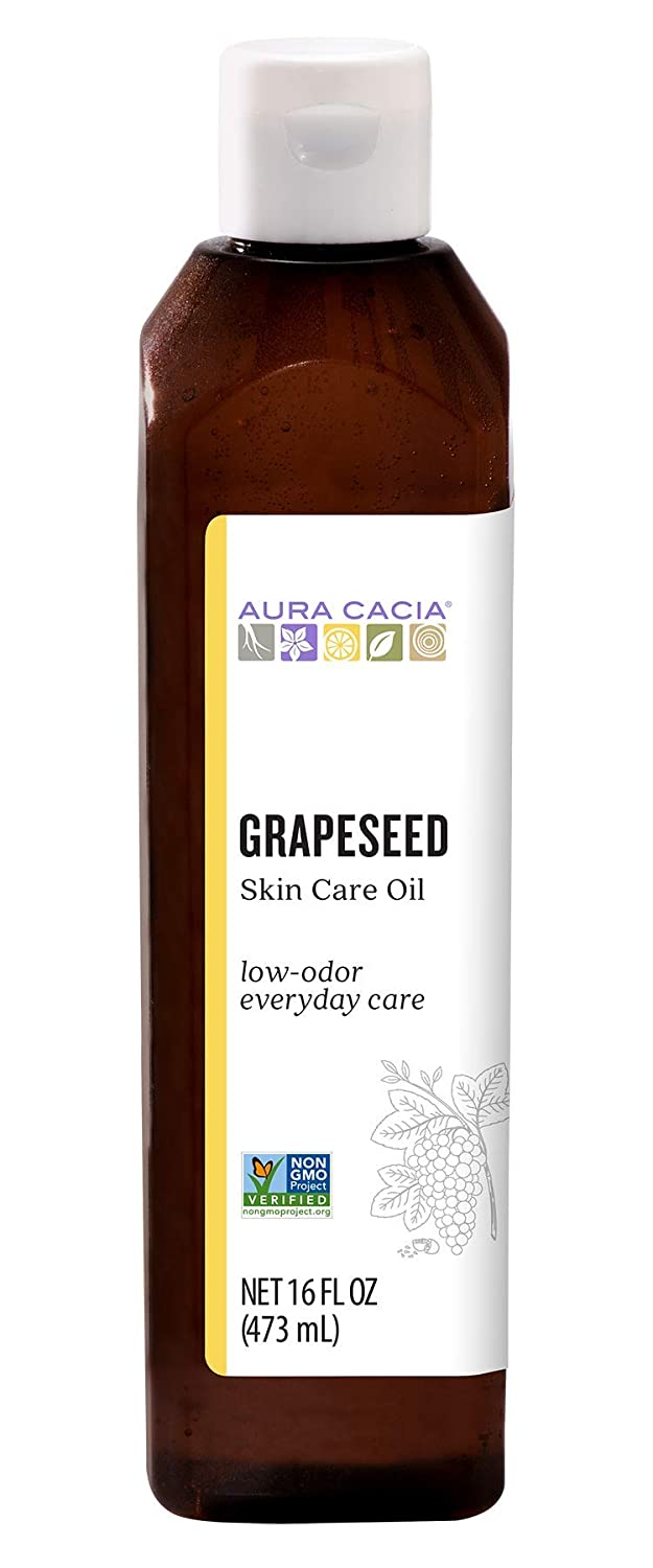 Aura Cacia Grapeseed Skin Care Oil for dry skin
