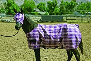 Kensington Weanling Protective Fly Sheet Red Plaid
