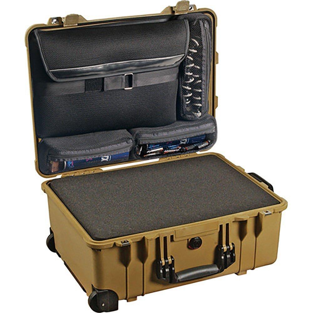 Pelican Products 1560-008-130 Large Laptop Overnight Case 1560LOC with Foam Base (OD Green) [並行輸入品]   B019SZA0JI