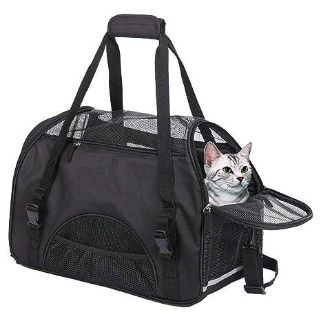 Bolsa de Transporte para Mascotas pequeñas o genéricas para transportín de Gatos, para Mascotas pequeñas