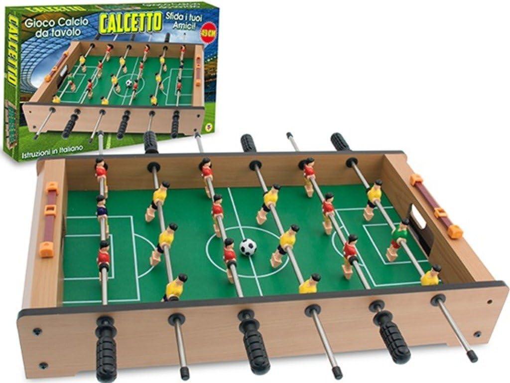 TEOREMA 63444 – de fútbol Sala futbolín de Mesa tamaño Mediano ...