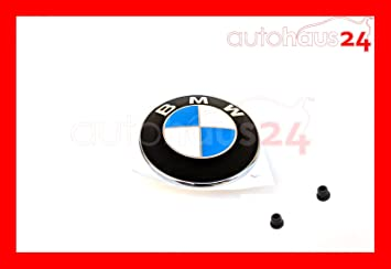 Original BMW key fob X3 with double joint and three-color BMW logo