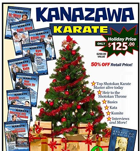 Kanazawa Shotokan Karate Gift Set 9 DVDs + Textbook & Tanto Trainer $250 Value! ()