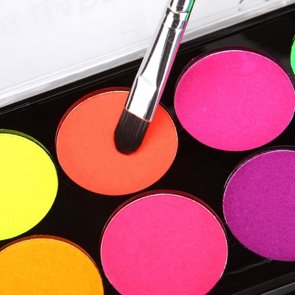 Set di acquerelli per acquerelli Kcnsieou colori fluorescenti