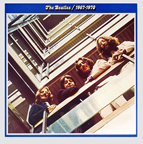 - The Beatles 1968-1970 The Blue Album 12x12 Album Promo Poster Flat
