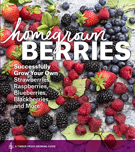 Homegrown Berries: Successfully Grow Your Own Strawberries Raspberries Blueberries Blackberries and More
