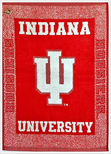 Deluxe Woven Golf Towel - NCAA Indiana Hoosiers Deluxe Woven Golf Towel w/Hook