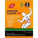 KONGDY Back Pain Patch Chinese Herbal Capsicum Plaster 7x10CM(10pieces)