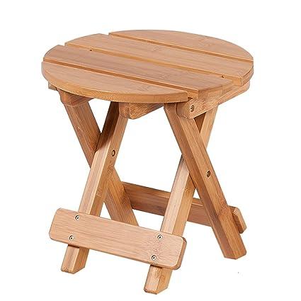 Enjoyable Amazon Com Zjm Chaise Lounges Bamboo Folding Stool Low Uwap Interior Chair Design Uwaporg