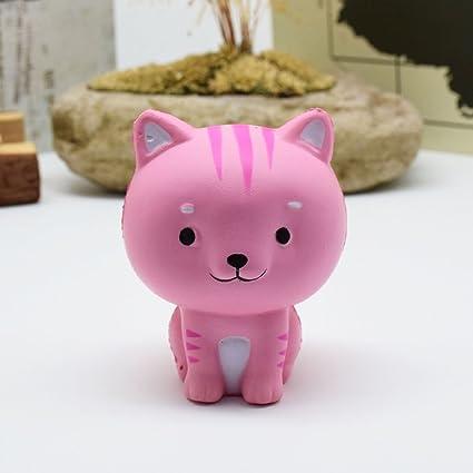Amazon.com: Bingirl Squishy Cat Kawaii Slow Rising Squishy ...