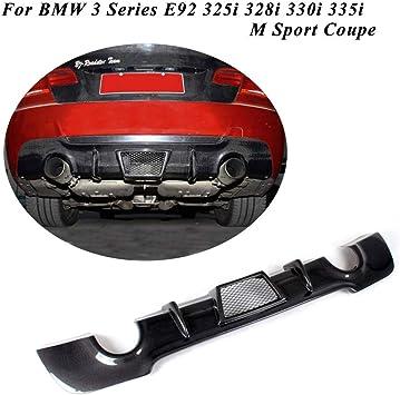 Carbon Fiber Rear Splitter Lip For 2007 BMW E92 328i 335i w// M Sport Bumper