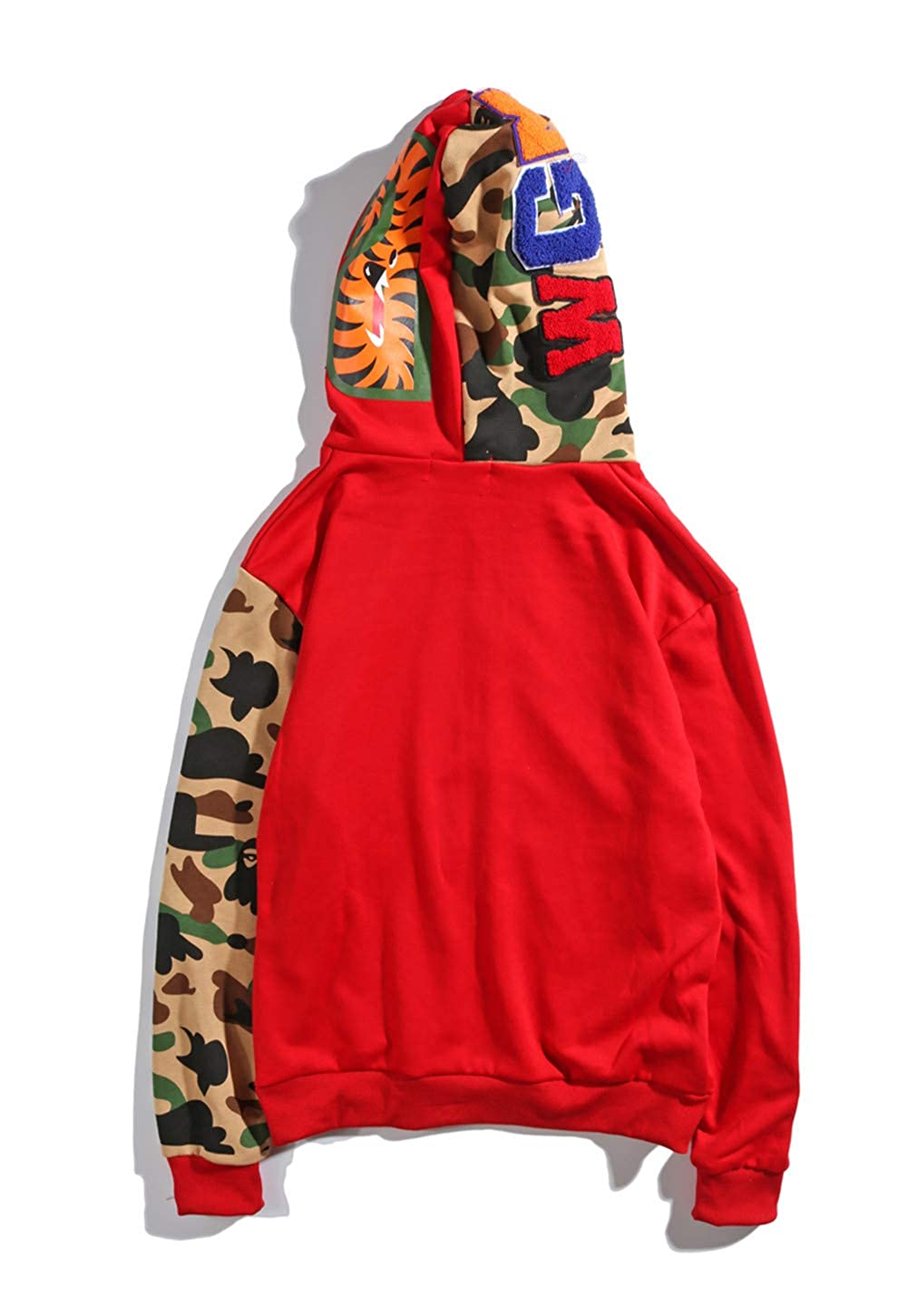 Bape Clothing Men|Bape Boy Shark Open Chest Zip Hoodie Girls for Sale: Amazon.es: Ropa y accesorios
