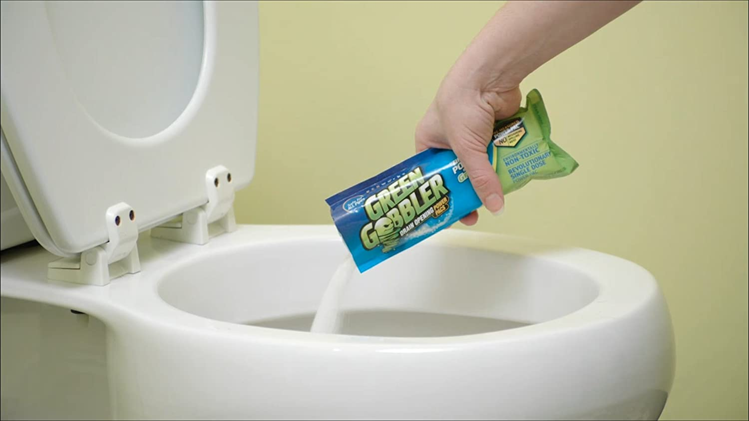 com green gobbler drain opening pac s oz pack com green gobbler drain opening pac s 8 25 oz 5 pack home kitchen