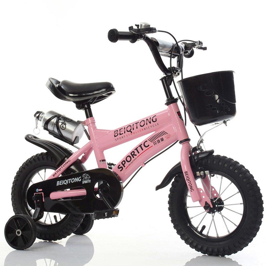 ベビー自転車、男の子自転車の少女自転車の自転車自転車の自転車の自転車の自転車ホイールDiameter30-42CM (色 : ピンク ぴんく, サイズ さいず : 88CM) B07D2F1TPX 88CM|ピンク ぴんく ピンク ぴんく 88CM