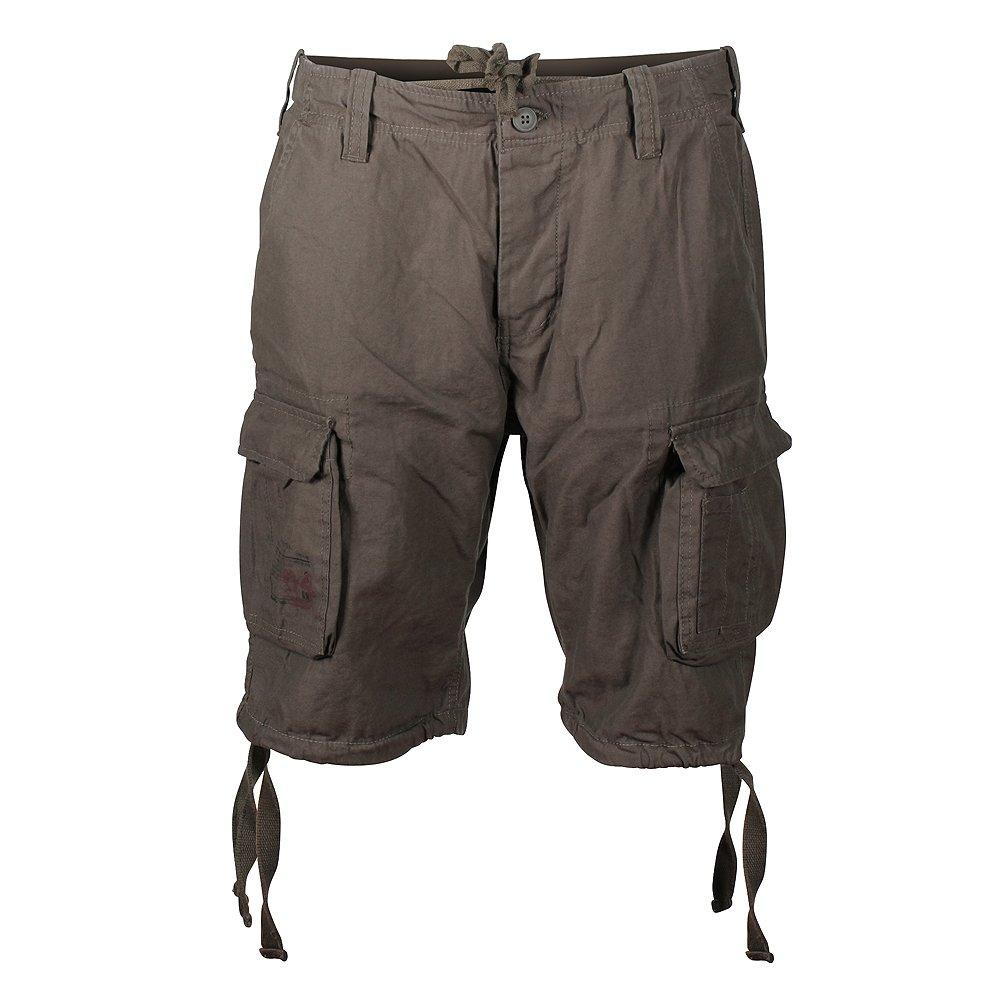 Surplus Men's Airborne Vintage Shorts Washed Olive