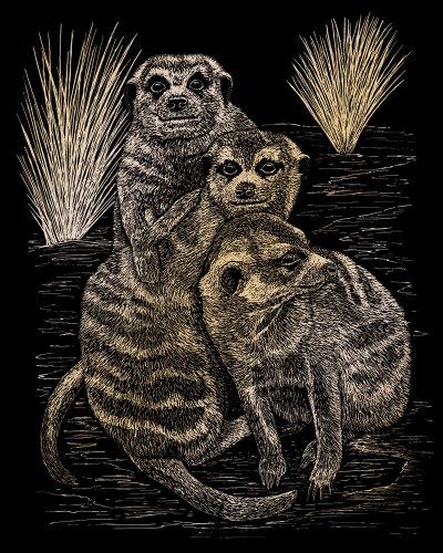 Royal and Langnickel Gold Engraving Art, Meer Cats