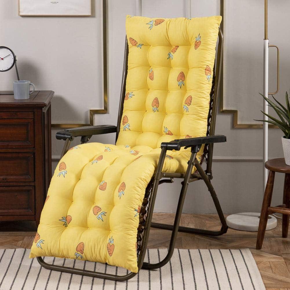 lit rembourr/é /épais coussin de canap/é de chaise souple Patio de jardin portable relaxer housse de si/ège de chaise pour voyage // vacances // // ext/érieur inclinable Coussins de chaise longue